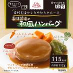介護食 レトルト 区分3 エバースマイル 香味醤油の和風ハンバーグ風ムース 6食セット