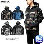 TULTEX 中綿ジャケット 中綿コート アウター メンズ マウンテンパーカー 暖かい アウトドア 釣り 大きいサイズ 3L カモフラ 迷彩