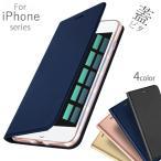 iPhoneケース シンプル スキン 手帳 au ドコモ ソフトバンク 対応 DUX DUCIS  iPhoneX  iPhone7 iPhone8 iPhone8Plus(即日発送)(あすつく)(ネコポス配送)