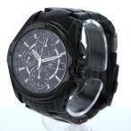 セイコー SEIKO イグニッション クロノグラフ 7T92-0FL0 クオーツ ブラック 文字盤 2針式 メンズ 腕時計 【mo】【中古】