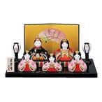 桃の節句 ひな人形 錦彩 華みやび 雛(平飾り) 2450