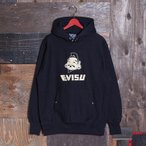 SWEAT HOODIE (EVISU-GOD-FACE/KAMOME/BLACK)/スウェット/EVISUジーンズ