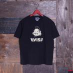 EVISUエヴィス 《VETERANO AC》 T-SHIRT (EVISU-GOD-FACE/KAMOME) BLACK/Tシャツ/半袖/EVISUジーンズ