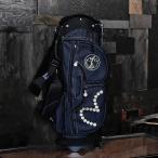 EVISUエヴィス CADDIE BAG STAND/INDIGO DENIM/キャディバッグ/スタンド式/デニム/ゴルフ/EVISUジーンズ