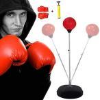 パンチバッグ サンドバッグ パンチングボール ボクシング ストレス発散 自宅 家庭用 高さ調節可 空気入れ付き