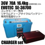 36V 70A еъе┴ежере╟егб╝е╫е╡едепеые╨е├е╞еъб╝ SE-367000 ╜╝┼┼┤яе│еєе╙е╗е├е╚ EVOTEC/еиеЇейе╞е├еп