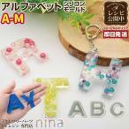 アルファベット シリコンモールド (A〜M) アルファベット UVレジン モールド 材料 シリコンモールド 英語 クラフト 手芸 ペンダント セッティング