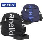 anello - ミニショルダーバッグ メンズ レディース anello アネロ ビッグロゴプリント ネコポス対応 全国送料無料