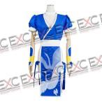 デッドオアアライブ(DEAD OR ALIVE) かすみ 青 風 コスプレ衣装