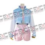 すーぱーそに子 ボンテージ(ピンク) 風 コスプレ衣装