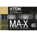 TDK■カセットテープ メタル MA-X46■46分■未開封