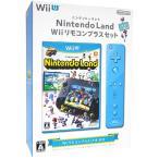 【中古】Nintendo Land Wiiリモコンプラスセット アオ Wii U