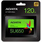 A-DATA製 SSD Ultimate SU650 ASU650SS-120GT-R 120GB