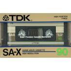 TDK ■ カセットテープ ハイポジ SA-X90F ■ 90分 ■ 未開封【送料180円�】