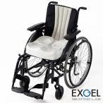 エクスジェル EXGEL アウルREHA アウルリハ 3Dハイ OWL24-BK1-4040 クッション 車いす 車椅子 座布団 ざぶとん じょくそう 褥瘡 床ずれ 予防 姿勢 保持