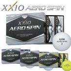 DUNLOP(ダンロップ) XXIO AERO SPIN -ゼクシオ エアロ スピン- ゴルフ ボール (12球)