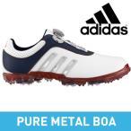 adidas(アディダス) pure metal Boa メンズ ゴルフ スパイク シューズ Q44616