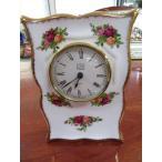 ロイヤルアルバート ROYALALBERT 英国製 オールドカントリーローズ 置時計