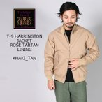 TRAFALGAR SHIELD (トラファルガーシールド)  T-9 HARRINGTON JACKET-ROSE TARTAN LINING / 8colors
