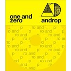 androp one and zero CD + DVD  初回限定盤