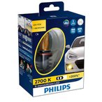PHILIPS X-treme Ultinon LEDフォグランプ 2700K H8/H11/H16