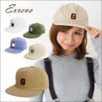 キャップ レディース シンプル アルファベット ワッペン ロゴ 6パネル ベースボールキャップ 野球帽 イニシャル メンズ