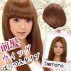 ウィッグ 前髪 前髪ウィッグ wig (ぱっつんタイプ)