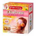 花王 KAO めぐりズム 蒸気でホットアイマスク 完熟ゆずの香り 14枚入
