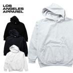 『LOS ANGELES APPAREL / ロサンゼルスアパレル』  L-HF09 Heavy Fleece Crew Hoded Pullover Sweatshirt