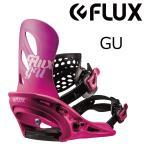 予約商品 2大特典付 19 FLUX GU B/D Pink (W) フラックス ジーユー スノーボード バインディング 18-19 2018