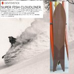 18 GENTEMSTICK SUPER FISH CLOUDLINER(17033)ゲンテンスティック スーパーフィッシュコールドライナー アクセルキャンバー アバランチシリーズ TARO