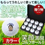 似顔絵ゴルフボール(カラー1ダース) キャロウェイ WARBIRD 名入れもOK! 無料ギフトラッピングで贈物に最適。ゴルフ好きプレゼントに大人気