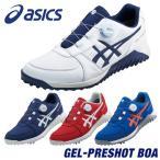 ASICS(アシックス) GEL-PRESHOT BOA  ゲルプレショット ボア ソフトスパイク ゴルフシューズ 2019モデル  「1113A003」