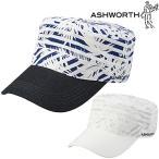 ASHWORTH(アシュワース)日本正規品プリントドゴールゴルフワークキャップKM868