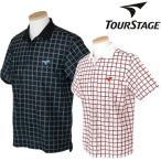 BRIDGESTONE TOURSTAGEブリヂストン ツアーステージ吸汗速乾半袖ポロシャツDTM05A「春夏ゴルフウエアs7」