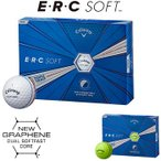 Callaway(キャロウェイ)日本正規品 ERC SOFT(イーアールシーソフト) 2019新製品 ゴルフボール1ダース(12個入)