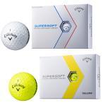2017新製品キャロウェイ日本正規品SUPERSOFT(スーパーソフト)ゴルフボール「1ダース(12個入)」