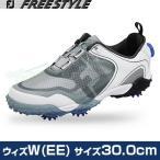 2016モデルFOOTJOYフットジョイ日本正規品FREESTYLE Boa(フリースタイルボア)ソフトスパイクゴルフシューズウィズ:W(EE)サイズ:30.0cm