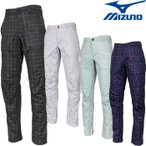 MIZUNO(ミズノ)ロングパンツ「52MF6504」「秋冬ゴルフウエアw7」