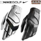 NIKEGOLF ナイキゴルフ  ゴルフグローブ 手袋  デュラ フィール VIII REG LH JF GG0479 001 ブラック メタリックシルバー XL 26cm
