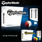 テーラーメイド日本正規品DISTANCE(ディスタンス)ゴルフボール 1ダース(12個入り)