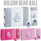 Wilson(ウィルソン)BEAR BALL(ベア ボール)ゴルフボール1ダース(12個入り)
