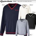 【2017年秋冬モデル59%OFF!】 テーラーメイド CA L/S ソリッドVネックセーター メンズ ゴルフ ウェア 「TaylorMade LOA91」