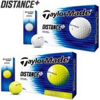 2019年モデル日本正規品 テーラーメイド ディスタンス プラス ゴルフボール 1ダース12個入り 「TaylorMade DISTANCE +」 あすつく対応