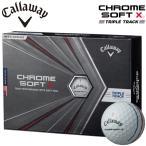 キャロウェイ クロムソフト エックス トリプル トラック ゴルフボール 1ダース12個入り CALLAWAY CHROME SOFT X TRIPLE TRACK あすつく対応