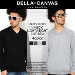 BELLA + CANVAS LOS ANGELES ベラキャンバス ロサンゼルス ロンt 長袖 tシャツ ラグラン Vネック メンズ レディース ビスコース ラグランtシャツ L.A. LA