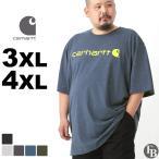 BIGサイズ │ カーハート (Carhartt) Tシャツ メンズ 半袖 大きいサイズ 半袖Tシャツ アメカジ ブランド メンズ Tシャツ