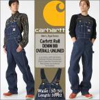 カーハート (Carhartt) オーバーオール デニム メンズ 大きいサイズ メンズ 作業着 作業服 オーバーオール カーハート