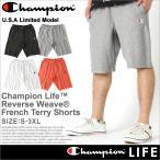 チャンピオン (Champion) ハーフパンツ メンズ リバースウィーブ ハーフパンツ メンズ スポーツ ショートパンツ メンズ 大きいサイズ メンズ