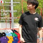 Champion チャンピオン Tシャツ メンズ 半袖 チャンピオン Tシャツ ロゴ チャンピオン ビックロゴ 半袖Tシャツ ヘビーウェイト champion usa アメカジ